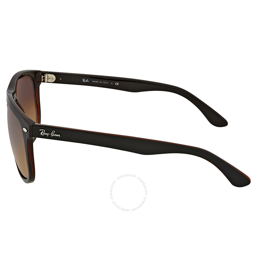 Ray Ban Highstreet Brown Gradient Square Sunglasses - Wayfarer - Ray ... d378efe477