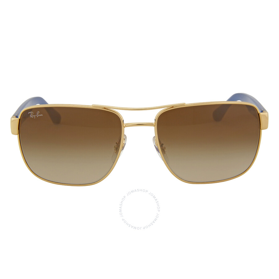 fd48452d1c1 Ray-Ban Highstreet Brown Gradient Sunglasses RB3530 001 13 58 ...