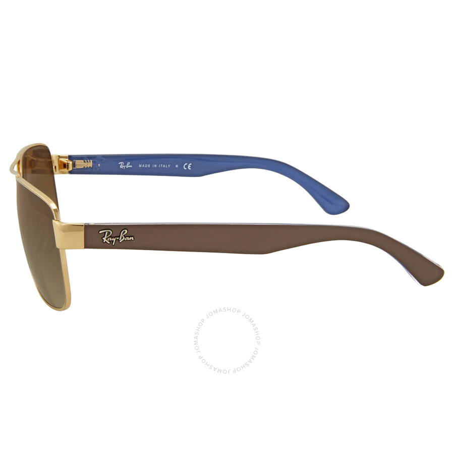 ac48264d916 ... Ray-Ban Highstreet Brown Gradient Sunglasses RB3530 001 13 58 ...