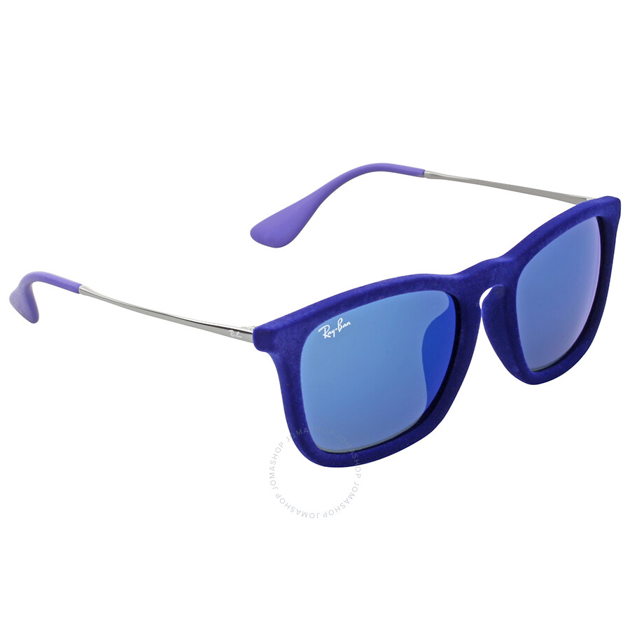 6d421f25ec Ray-Ban Highstreet Chris Silver Mirror Sunglasses - Chris - Ray-Ban ...
