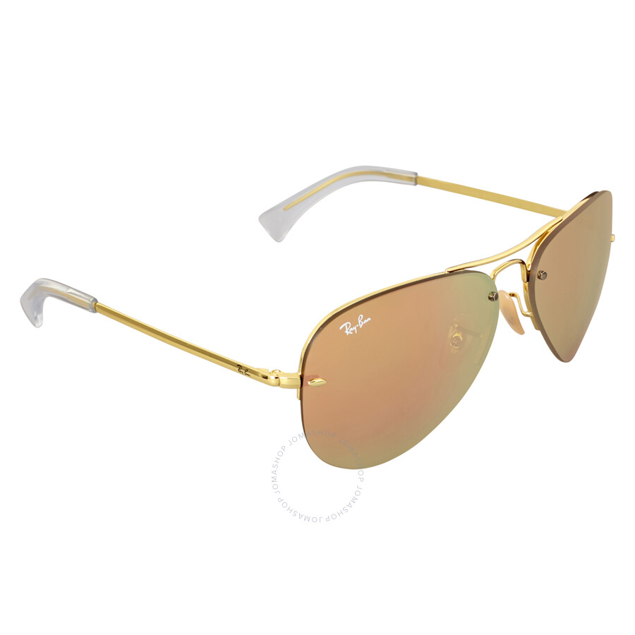 e9012d4809c ... Ray-Ban Highstreet Copper Mirror Sunglasses RB3449 001 2Y 59 ...