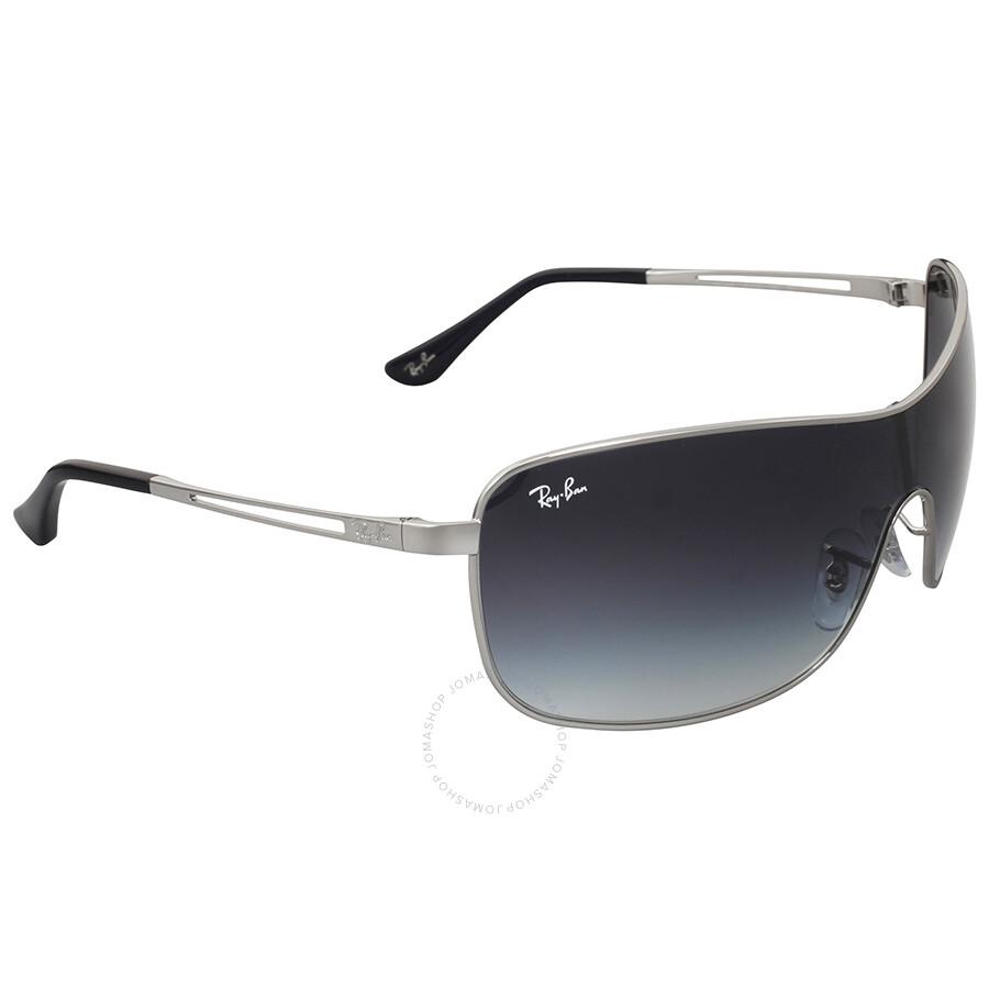 Ray ban sunglasses gradient -  Ray Ban Highstreet Gradient Grey Sunglasses