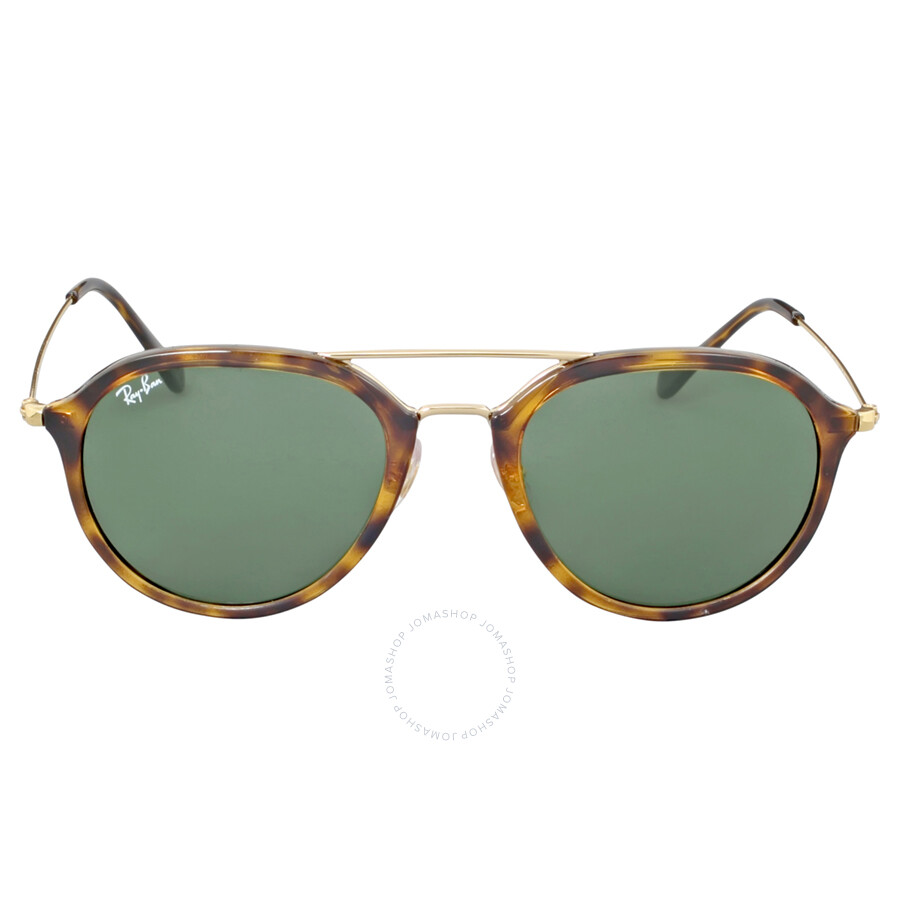 36a691bdfa6828 Ray-Ban Highstreet Pilot Green G-15 Sunglasses ... Sunglasses Ray-Ban  Highstreet RB 4253 ...