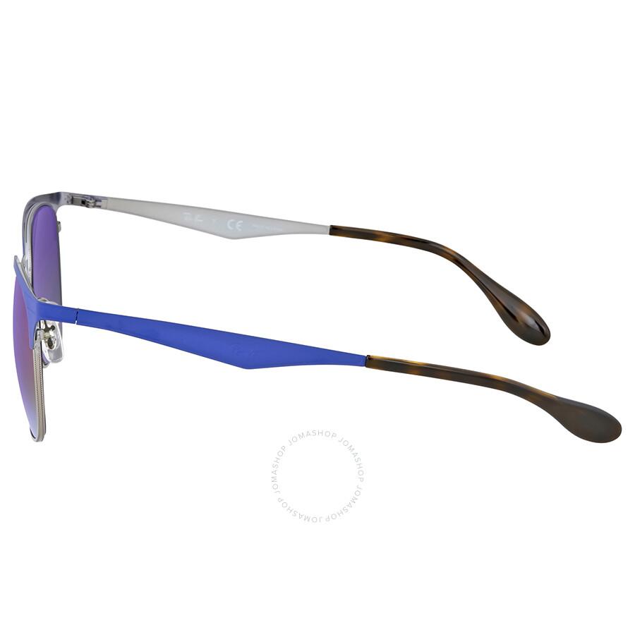 bc52eff8b2 Ray Ban Highstreet Violet Gradient Mirror Sunglasses Ray Ban Highstreet  Violet Gradient Mirror Sunglasses ...
