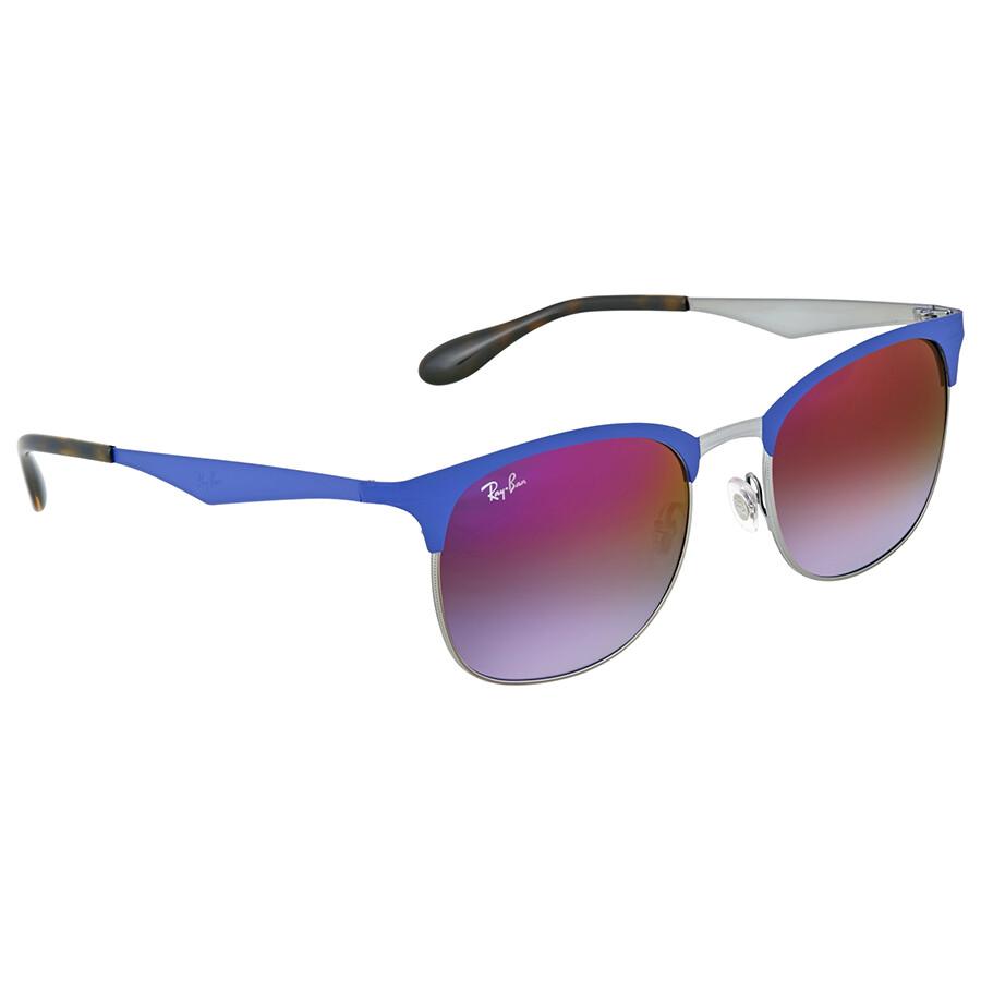 170f04f027 Ray Ban Highstreet Violet Gradient Mirror Sunglasses - Highstreet ...
