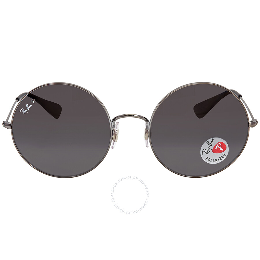 c088ce691b9 Ray Ban Ja-jo Grafito Gray Gradient Round Ladies Sunglasses RB3592 004 T3 55  ...