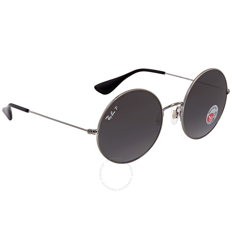 a238a0de5b1 ... Ray Ban Ja-jo Grafito Gray Gradient Round Ladies Sunglasses RB3592 004 T3  55