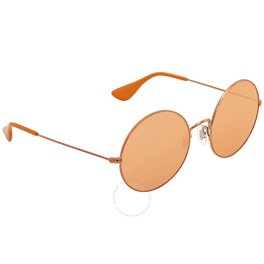 18a1eda666b Ray Ban Ja-jo Round Ladies Sunglasses RB3592 9035C6 55 - Round - Ray ...
