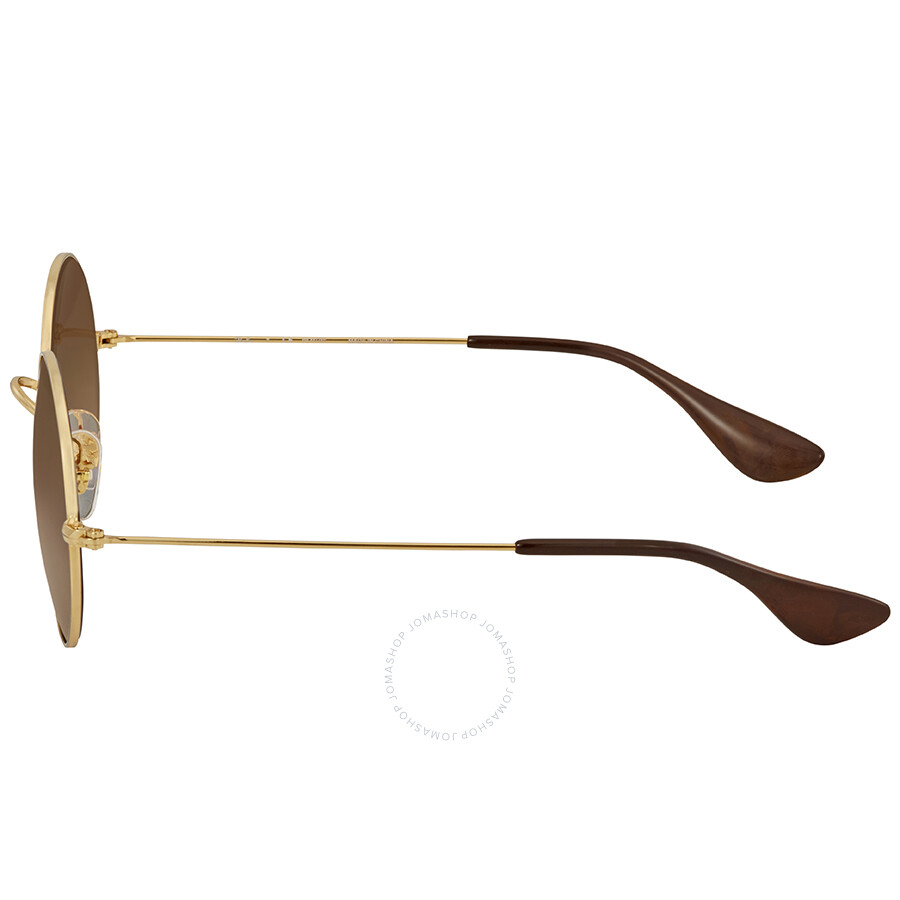 24f613b4ea88e0 ... Ray Ban Ja-jo Polarized Brown Gradient Round Ladies Sunglasses RB3592  001 T5 50