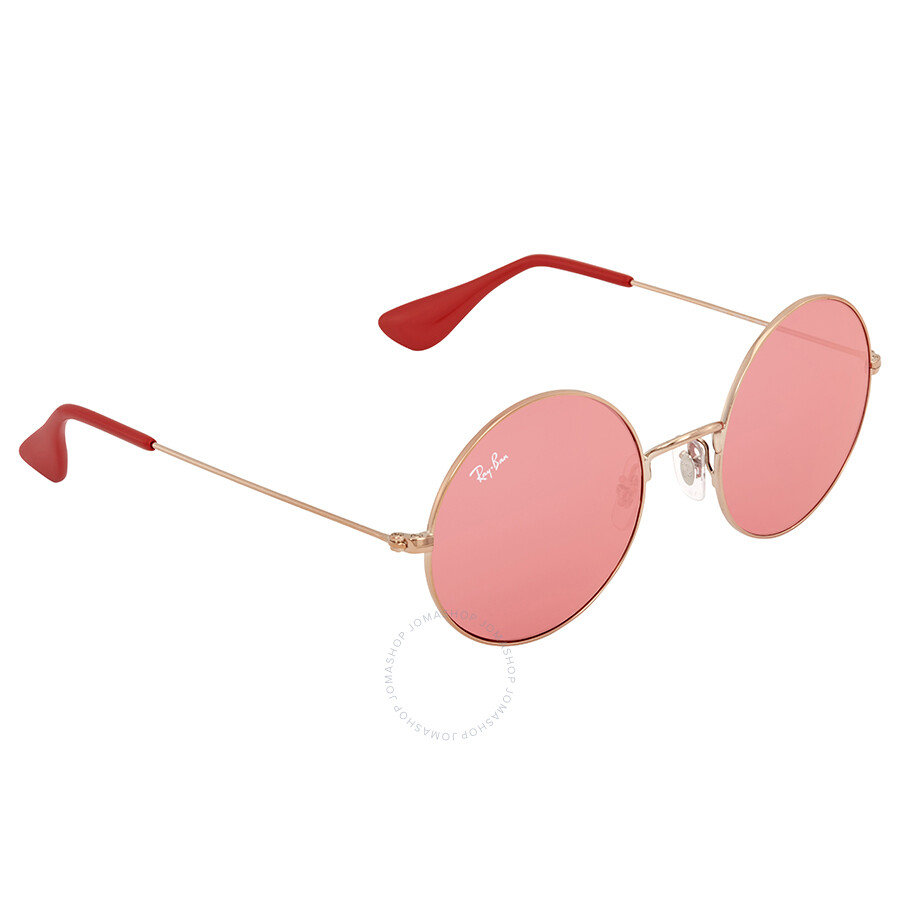 f28317a9df4 Ray Ban Ja-jo Red Classic Ladies Sunglasses RB3592 9035C8 50 - Round ...