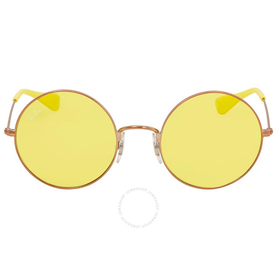 65c149a52d1 ... Ray Ban Ja-jo Yellow Classic Ladies Sunglasses RB3592 9035C9 50 ...