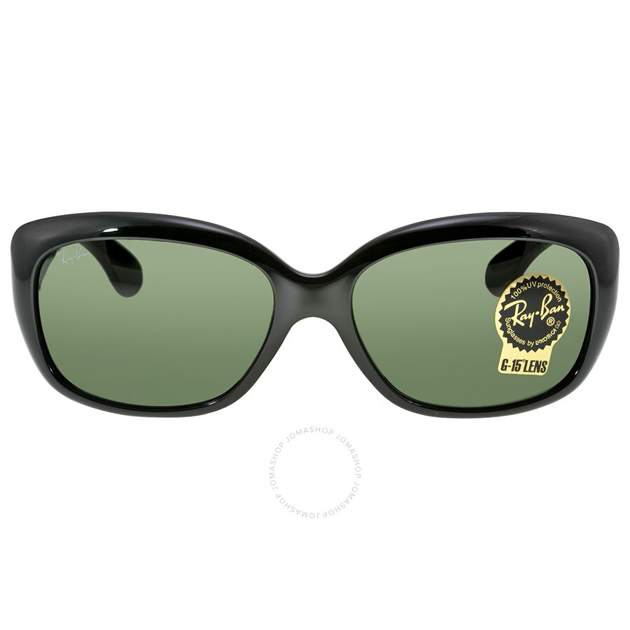 6888f1a380 Ray Ban Jackie Ohh Classic Green Sunglasses RB4101 601 58-17 - Ray ...