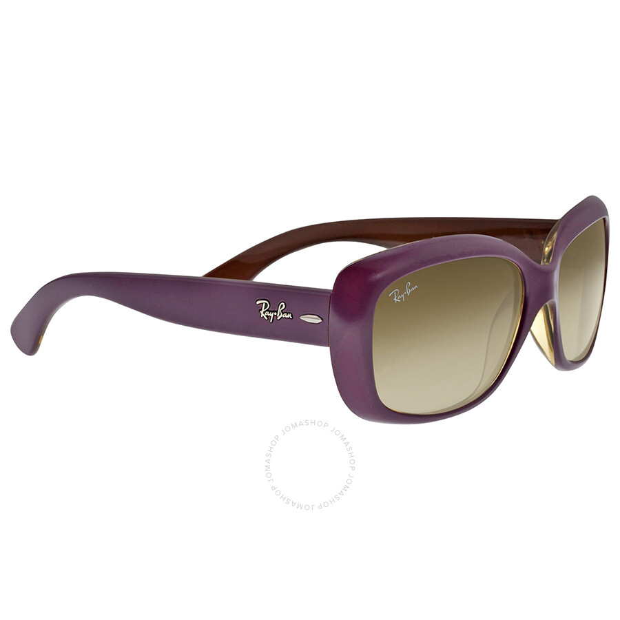 5d8db9aee1 Ray Ban Jackie Ohh Matte Violet Sunglasses RB4101-58-613413 - Ray ...
