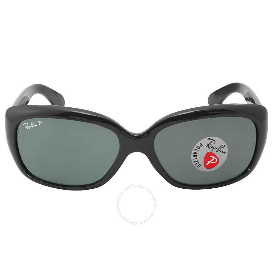 05a966be51e Ray Ban Jackie Ohh Polarized Green Classic G-15 Ladies Sunglasses RB4101  601 58 ...