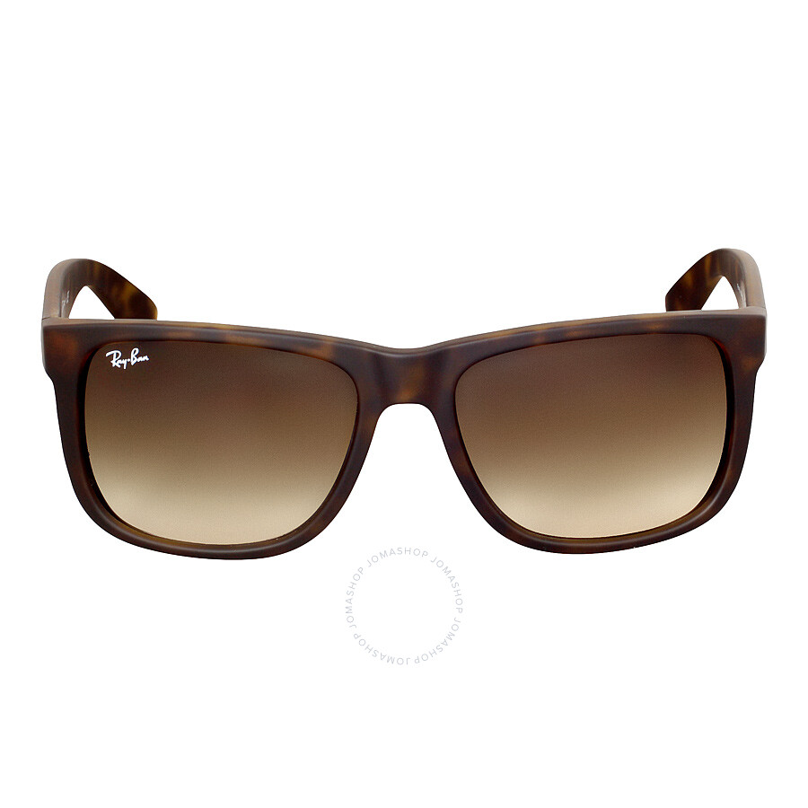 bb0cd8b0185b0 Ray-Ban Justin Classic Brown Gradient Sunglasses RB4165-710-13-55 ...