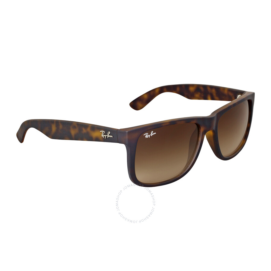 da958a988c ... Ray-Ban Justin Classic Brown Gradient Sunglasses RB4165-710-13-55 ...