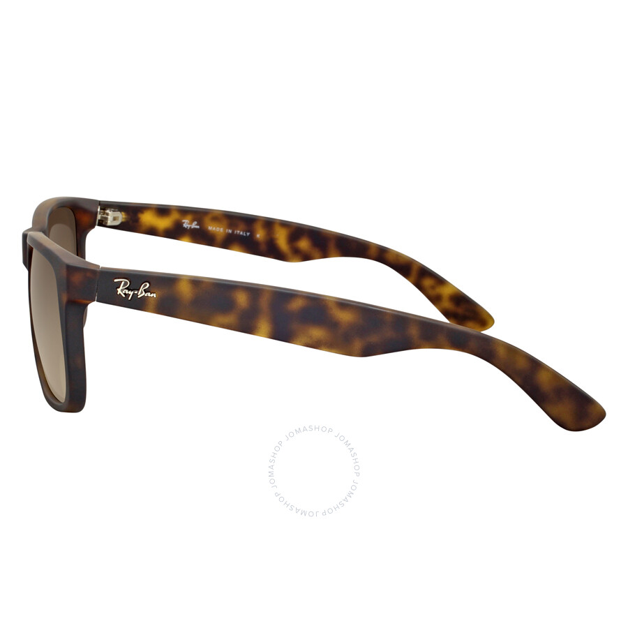 5dc6482316 Ray-Ban Justin Classic Brown Gradient Sunglasses RB4165-710-13-55 ...