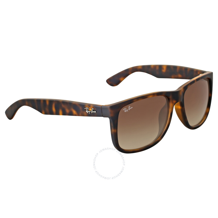 ray ban justin classic brown gradient sunglasses rb4165f 856 13 55 justin ray ban. Black Bedroom Furniture Sets. Home Design Ideas