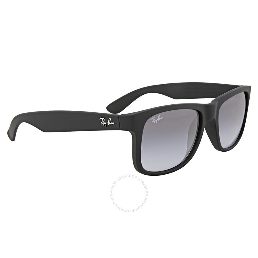 36f58714ad6c6 Ray Ban Justin Classic Grey Gradient Sunglasses RB4165 601 8G 51 ...