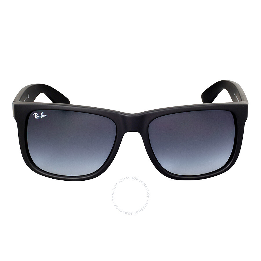 ban justin classic grey gradient sunglasses rb4165 601