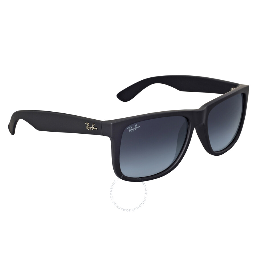 7d1044af65 ... Ray-Ban Justin Classic Grey Gradient Sunglasses RB4165 601 8G 55 ...