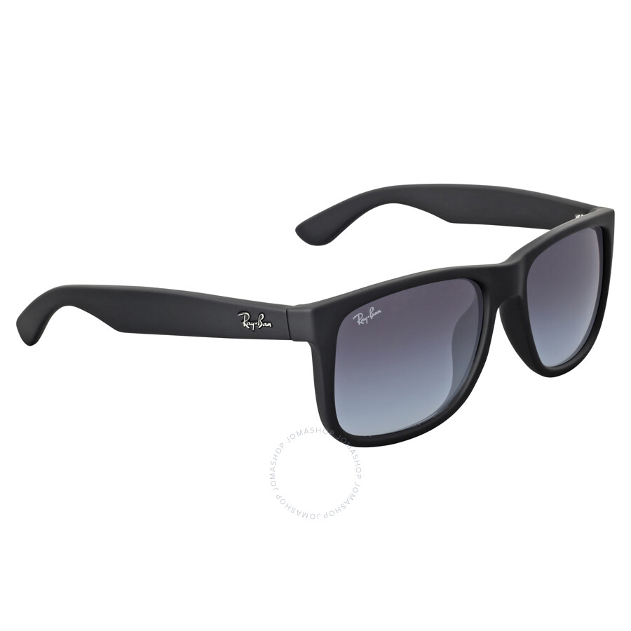 b53ea5006a ... Ray-Ban Justin Classic Grey Gradient Sunglasses RB4165F 622 8G 55 ...