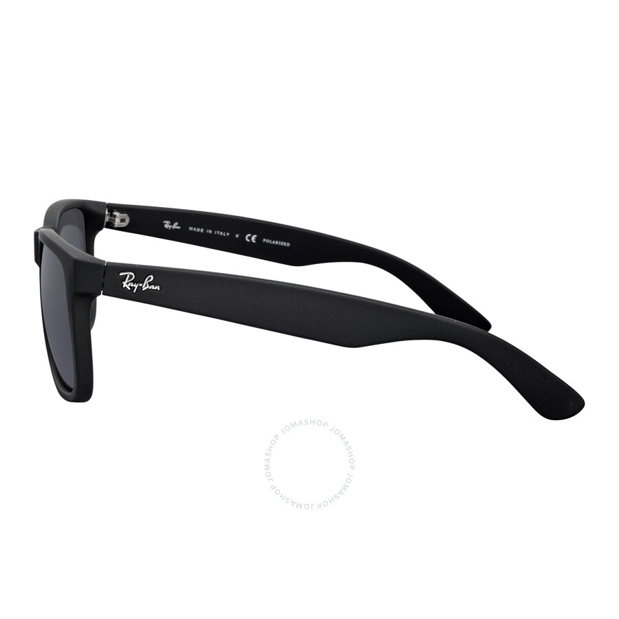 8e94b9e89f ... Ray-Ban Justin Classic Polarized Grey Gradient Sunglasses RB4165 622 T3  55