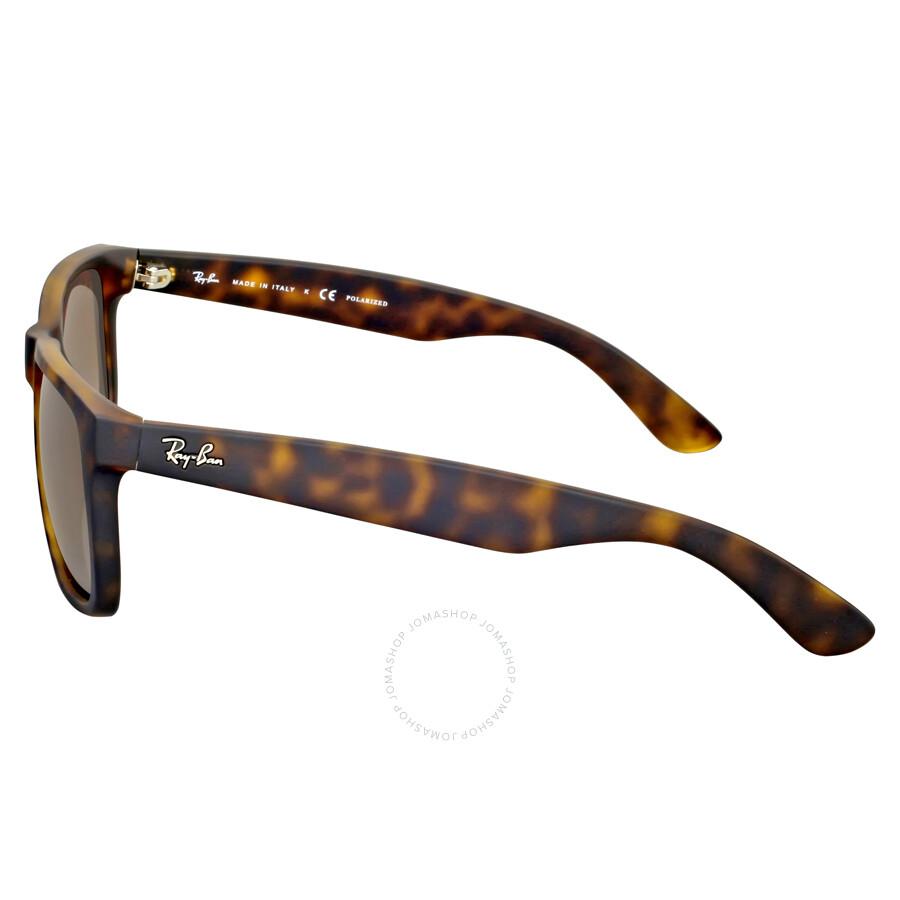 d020c2a8d8 ... Ray-Ban Justin Classic Polarized Tortoise Sunglasses RB4165 865 T5 55