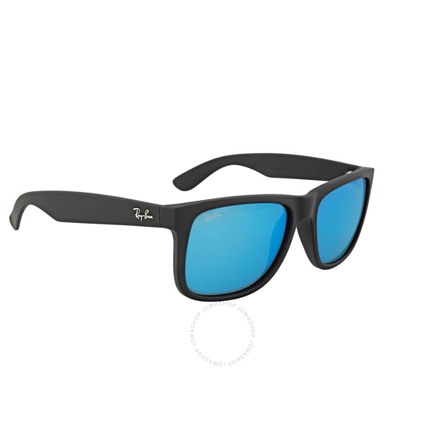 eed8422995 Ray Ban Justin Color Mix Blue Mirror Sunglasses RB4165 622 55 54-16 ...