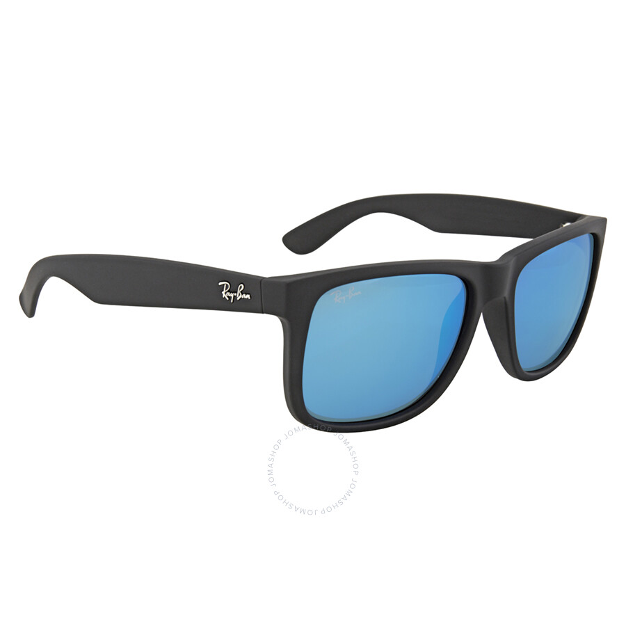 a8fdf3de206a2b Ray Ban Justin Color Mix Blue Mirror Sunglasses RB4165 622 55 54-16 ...