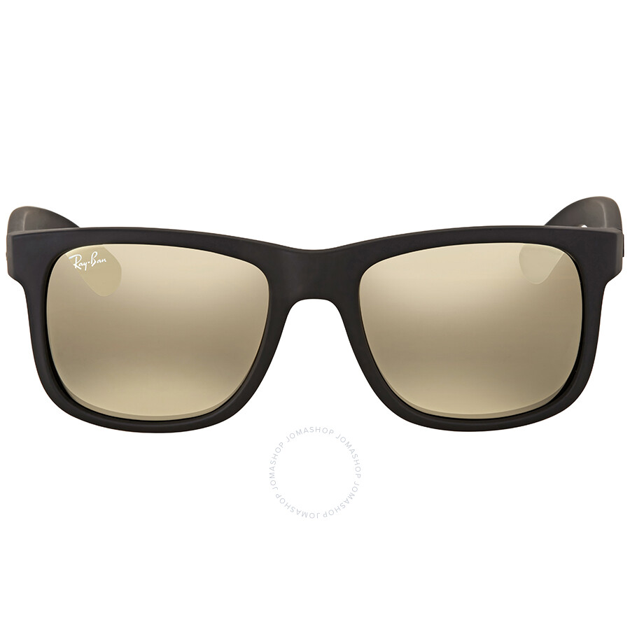a5b306f338 Ray Ban Justin Color Mix Gold Mirror Rectangular Sunglasses - Justin - Ray- Ban -