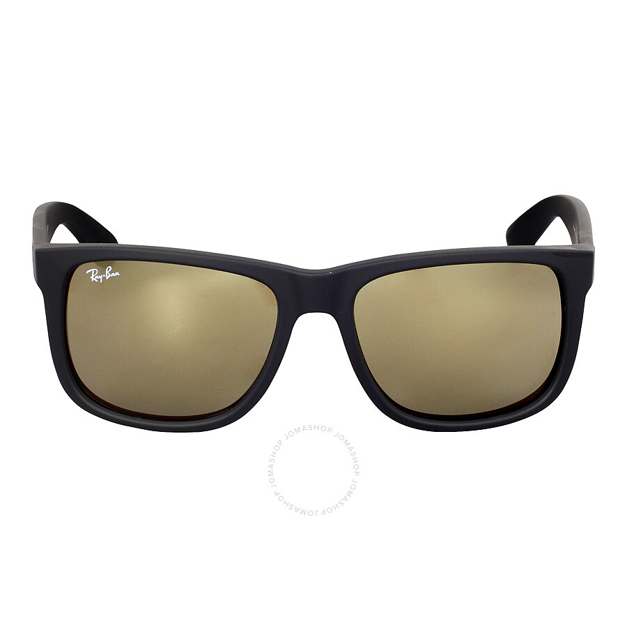 Ray ban justin color mix gold mirror sunglasses rb4165 622 for Mirror sunglasses