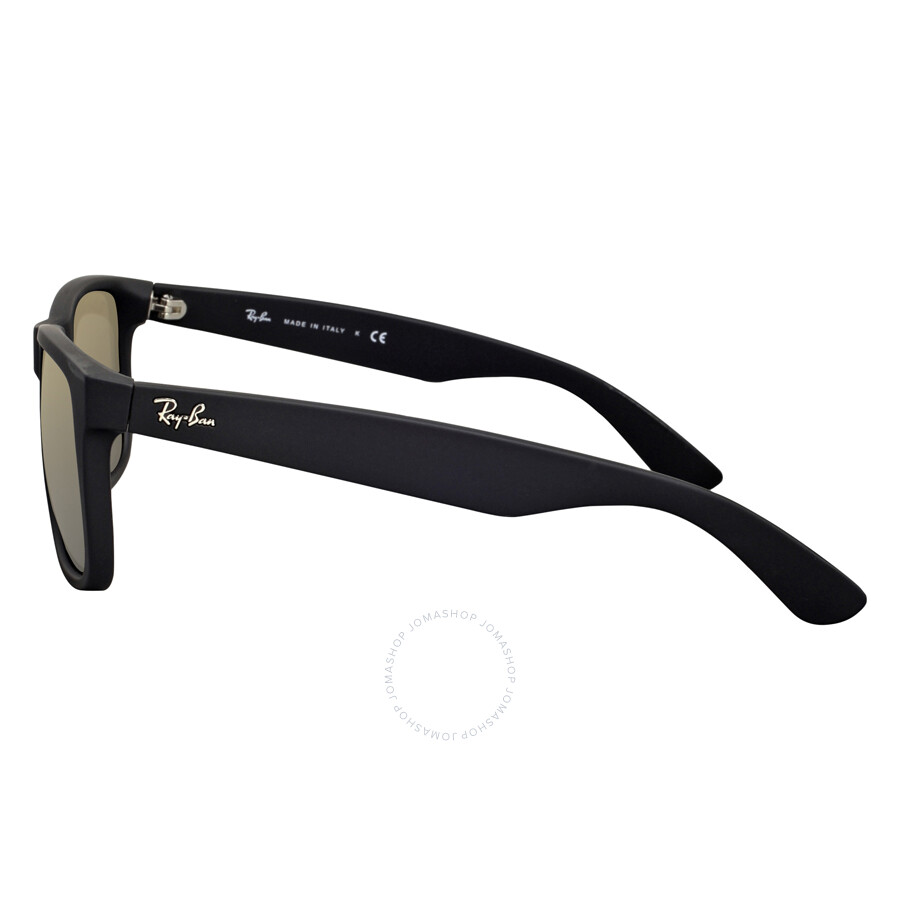 rb4165 q0oo  Ray-Ban Justin Color Mix Gold Mirror Sunglasses RB4165 622/5A 55