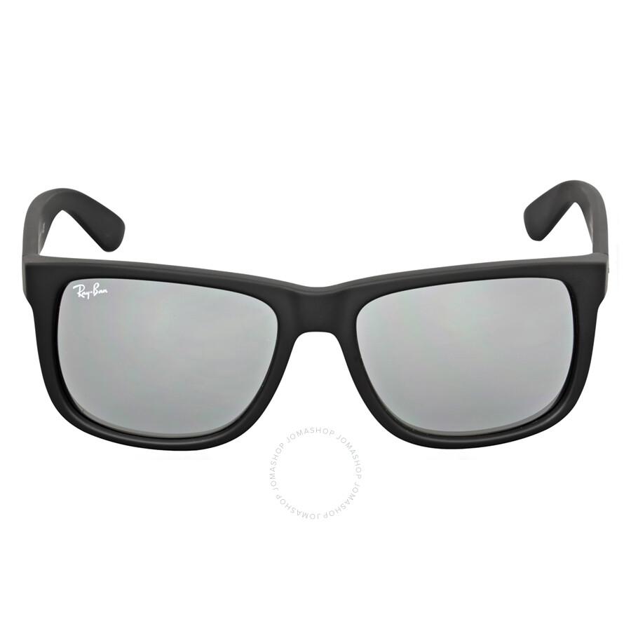 ray ban justin color mix grey mirror sunglasses rb4165 622 6g 55 justin ray ban sunglasses. Black Bedroom Furniture Sets. Home Design Ideas