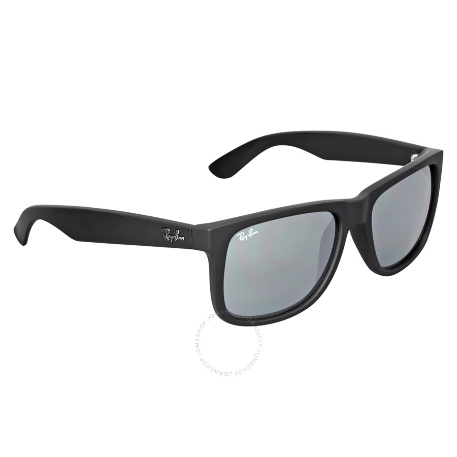 b6ad0a55a6 ... Ray Ban Justin Color Mix Grey Mirror Sunglasses RB4165 622 6G 55 ...