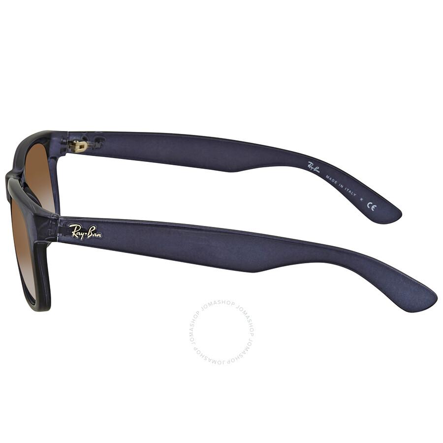 2de763cacef1 ... Ray Ban Justin Flash Green Gradient Mirror Rectangular Sunglasses RB4165  6341T0 51