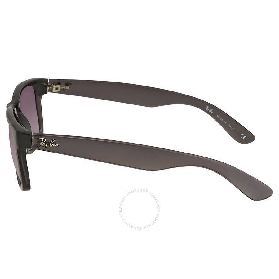 bd36ecaed5 ... Ray Ban Justin Flash Grey Gradient Mirror 51 mm Sunglasses RB4165 606 U0  51