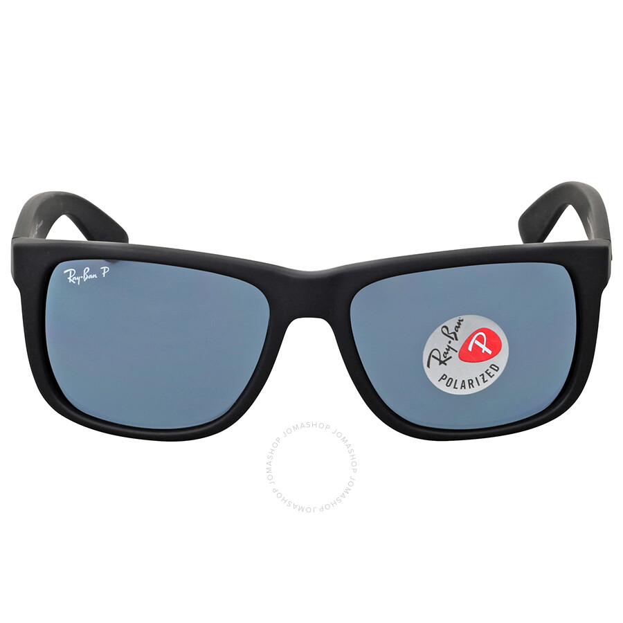 ray ban justin polarized blue classic justin ray ban sunglasses jomashop. Black Bedroom Furniture Sets. Home Design Ideas