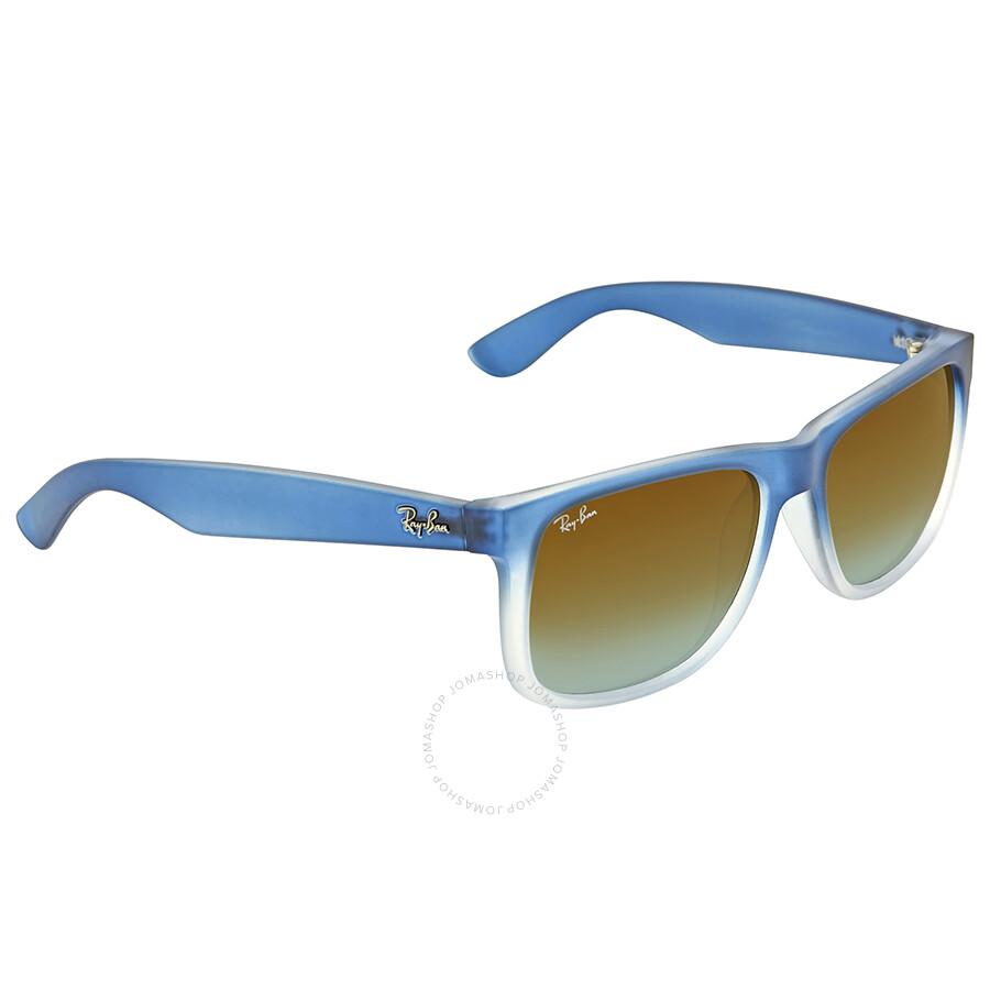 9e16769c0605 ... purchase ray ban justin silver gradient mirror sunglasses ray ban justin  silver gradient mirror sunglasses 52b70