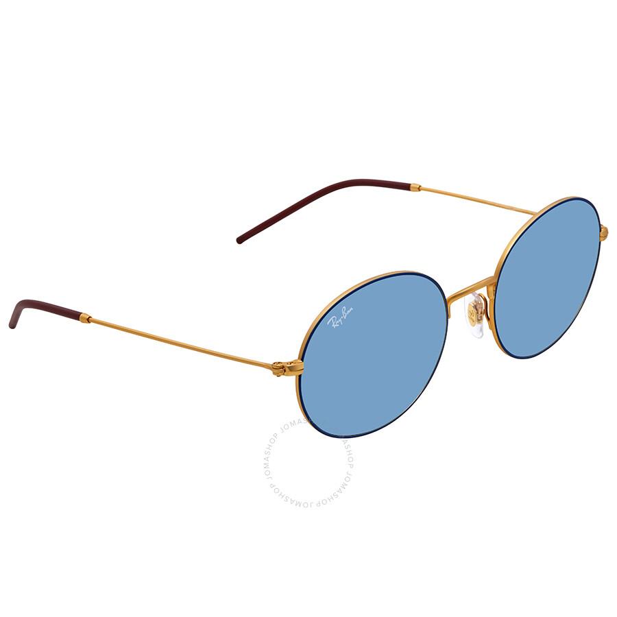 7e5da996932a Ray Ban Light Blue Classic Round Sunglasses RB3594 9113F7 53 - Round ...