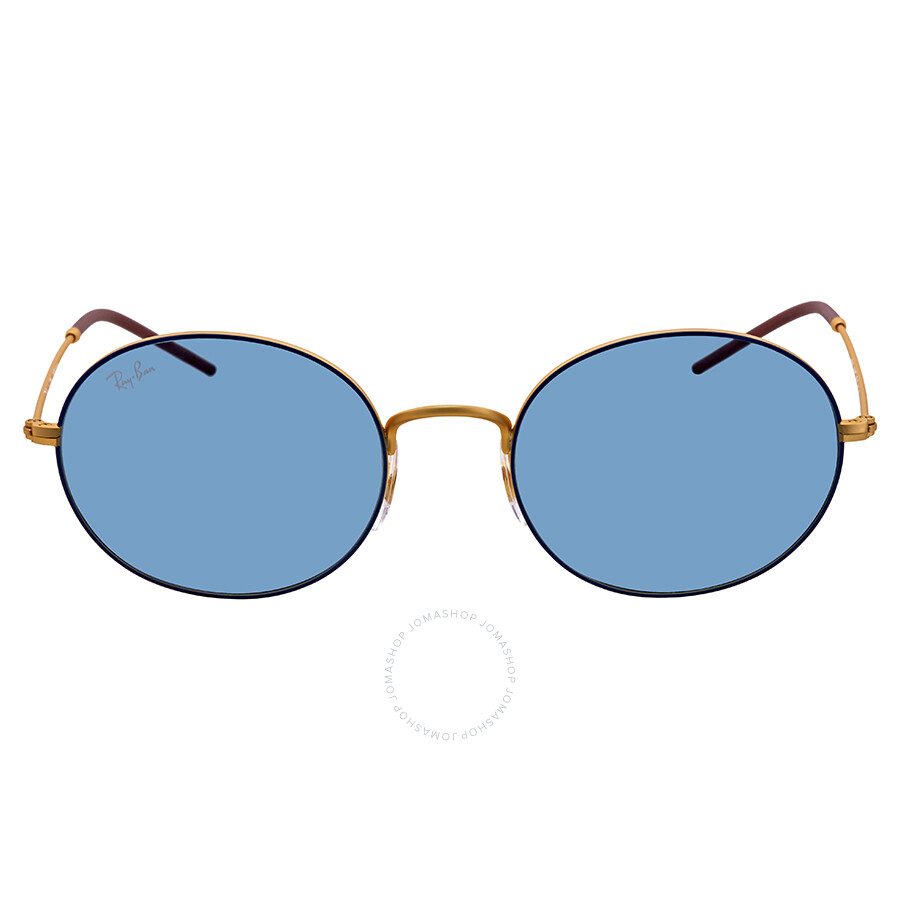 bef787418e Ray Ban Light Blue Classic Round Sunglasses RB3594 9113F7 53 - Round ...