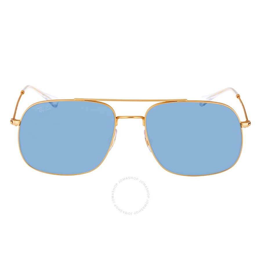 91bbd6d437d2 ... Ray Ban Light Blue Classic Square Sunglasses RB3595 901380 59 ...