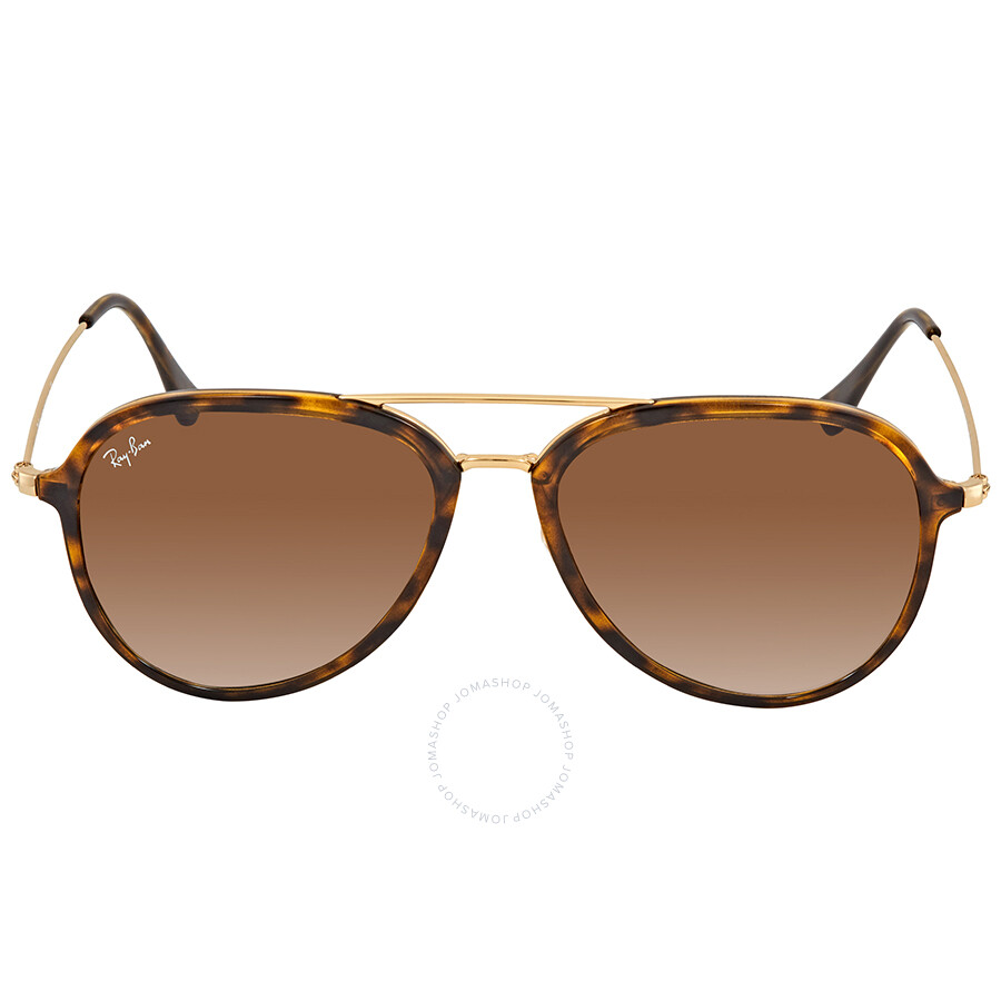 8be62dc78a ... Ray Ban Light Brown Gradient Aviator Sunglasses RB4298 710 51 57 ...