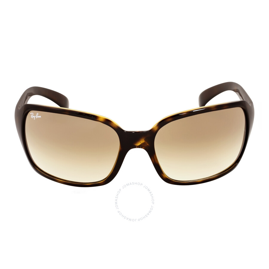 ray ban ladies  Ray Ban Light Brown Gradient Ladies Sunglasses RB4068 710/51 60-17 ...