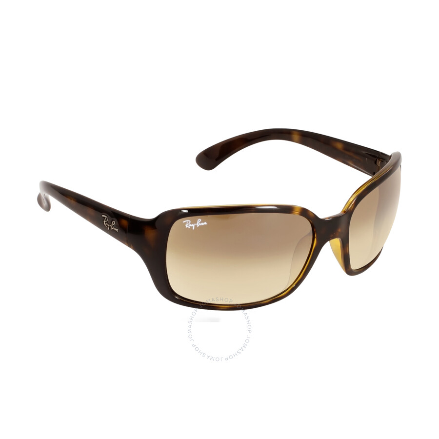ladies ray bans  Ray Ban Light Brown Gradient Ladies Sunglasses RB4068 710/51 60-17 ...