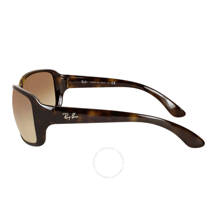 ladies ray ban sunglasses  Ray Ban Light Brown Gradient Ladies Sunglasses RB4068 710/51 60-17 ...