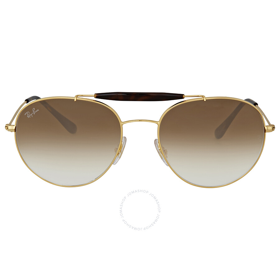 9416682bb3e Ray Ban Light Brown Gradient Metal Sunglases - Ray-Ban - Sunglasses ...