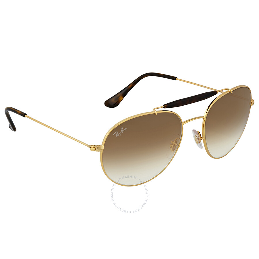 d0d9d8c745 Ray Ban Light Brown Gradient Metal Sunglases - Ray-Ban - Sunglasses ...