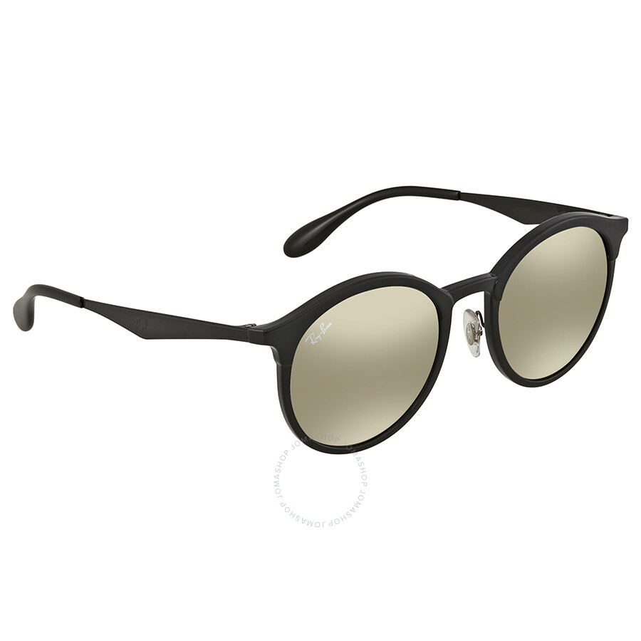 5493c660664 Ray Ban Light Brown Mirror Gold Round Sunglasses RB4277 601 5A 51 ...