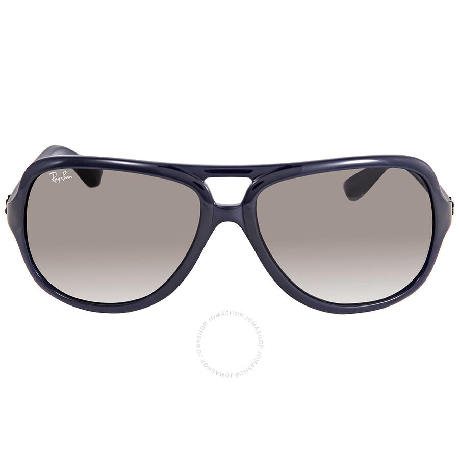 3767221470 ... Ray Ban Light Grey Gradient Aviator Sunglasses RB4162 62932 59 ...